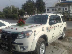 Wedding Car New Endeavour