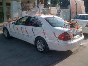 Marriage parties car Mercedes