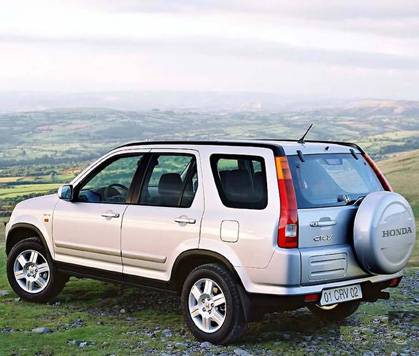 SUV Honda CRV Hire Rental