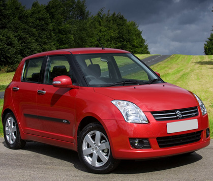 Car hire rental swift